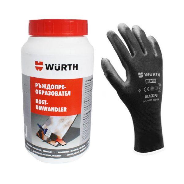 Ръждопреобразувател ВЮРТ + подарък ръкавици