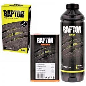 RAPTOR защитно покритие и боя с повишена здравина